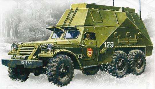 BTR-152S gepanzerter Kommando-Wagen