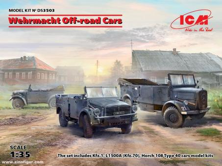 Wehrmacht Off-Road Cars - Diorama Set