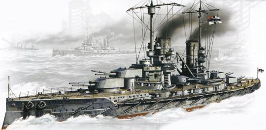 Schlachtschiff S.M.S. Großer Kurfürst