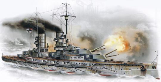 Schlachtschiff S.M.S. Markgraf