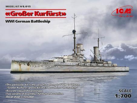 SMS Großer Kurfürst - Full Hull