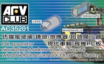 P.C. Panel for Simulating Modern Vehicle Optics