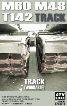 M60 & M48 T142 Panzerketten, später Typ