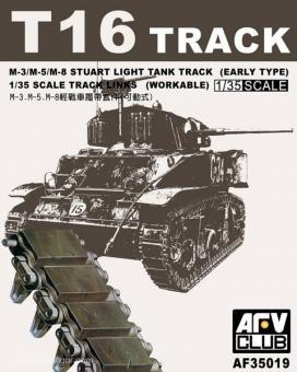 T1 6  Panzerketten für M3 Stuart/M5  Panzerketten