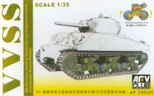 M4 Sherman VVSS Suspension Umbausatz