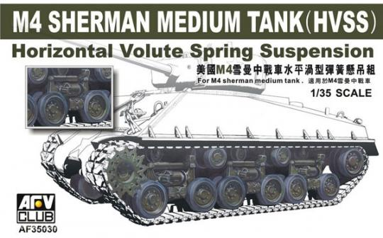 M4A3E8 HVSS Aufhängung