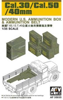 Munitionskisten CAL.30/CAL.50/40 mm