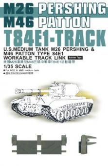 T84E1  Panzerketten für M26/M46
