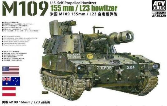 M109 155mm L23 Haubitze