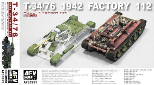"""T-34/76 1942 Fabriknr. 112 """"Klarsicht-Version"""""""