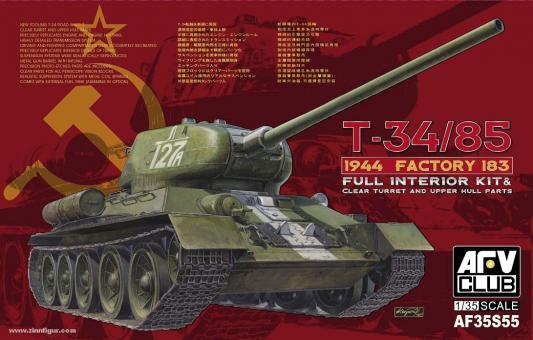 T-34/85 1944 Fabrik 183