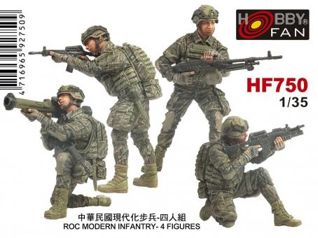 ROC Taiwanesiche Infanteristen