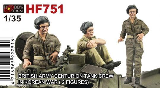 Centurion Panzerbesatzung - Korea Krieg