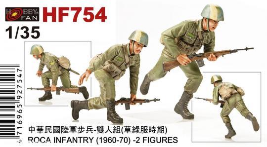 ROCA Infanterie - 1960-70
