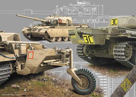 Centurion Mk.5LR/Mk.5/1 mit Zusatztanks