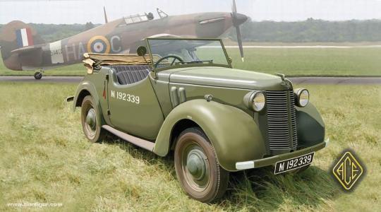 Britischer Stabswagen Tourer 8HP
