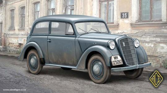 1937 Olympia Stabswagen Zweitürer