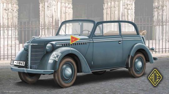 1938 Olympia Cabriolet