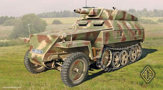 Sd.Kfz. 250/8 Stummel