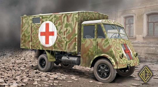 3,5t Lkw AHN Ambulanz