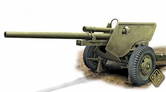 3 Inch PaK M5 auf M6 Lafette (spät)