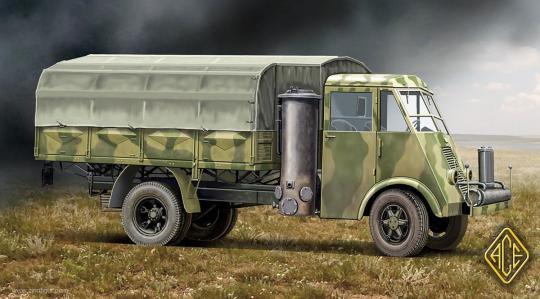 3,5t Lkw AHN mit GAZ Generator