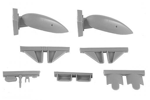 """Blenheim Mk.I/Mk.II """"Finnland"""" 1. Serie Ski-Fahrwerk - fester Typ"""