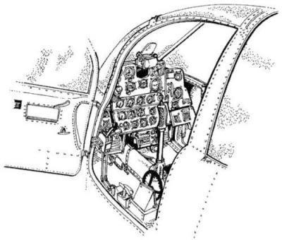 P-39 Q Interior Set
