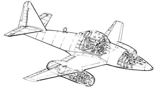 Me-262 A/B Detail Set