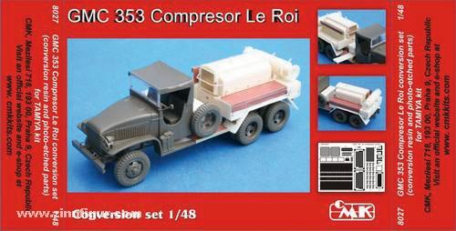 GMC 353 Compressor Le Roi Umbauset