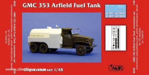 GMC 353 Airfield fuel tank Umbauset