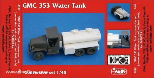 GMC 353 Water tank Umbauset