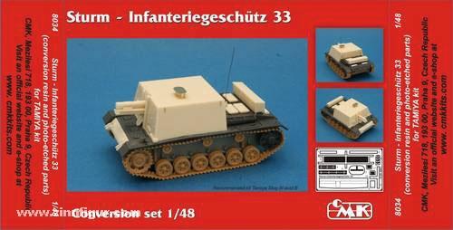 Sturm Infanteriegeschütz 33 Umbauset