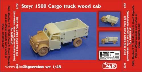 Steyr 1500 Cargo truck wood cab Umbauset