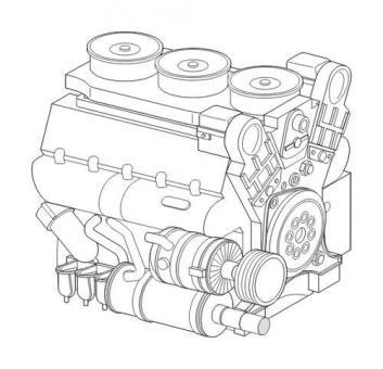 Maybach HL230 P45 Panzermotor