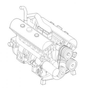 Maybach HL 120 TRM Panzermotor