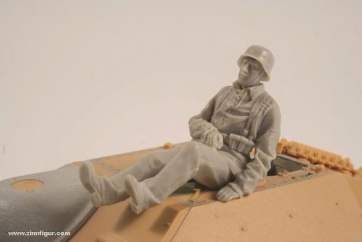 Sitzender Infanterist für Hetzer