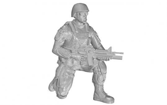 Kniender Soldat für M1126 Stryker - US Army Infantry Squad 2nd Division