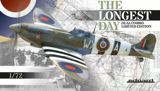 """Spitfire Mk.IXc/e """"The Longest Day"""" - Limited Edition - Dual Combo"""
