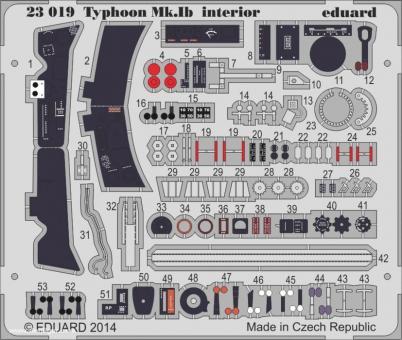 Typhoon Mk.Ib Innendetails