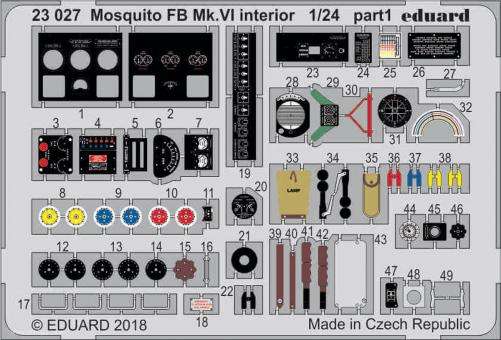 Mosquito FB.VI Innendetails