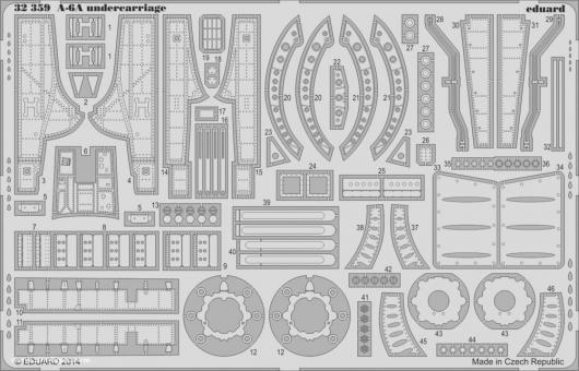 A-6A Intruder Fahrwerkdetails