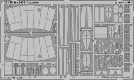Me 262B-1 Außendetails