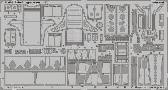 P-40N Warhawk Upgrade Set
