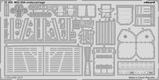 MiG-29A Fulcrum Fahrwerkdetails