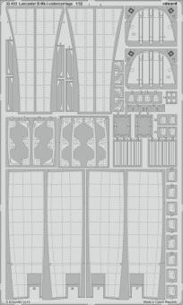 Lancaster B Mk.I Fahrwerkdetails