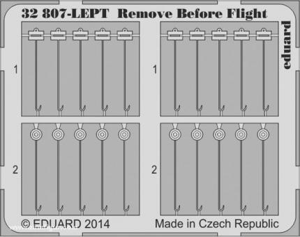 Remove Before Flight Fahnen (Stoff)