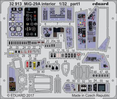 MiG-29A Fulcrum Innendetails