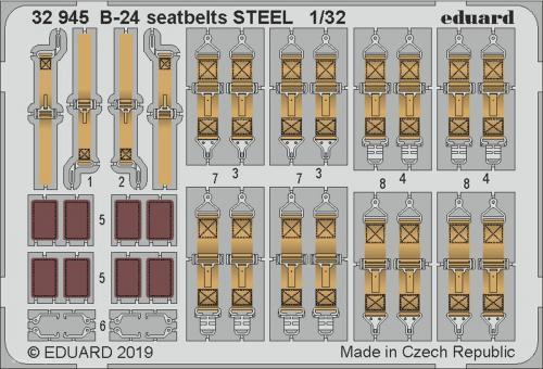 B-24 Gurte (Stahl)