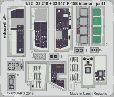 F-15E Innendetails